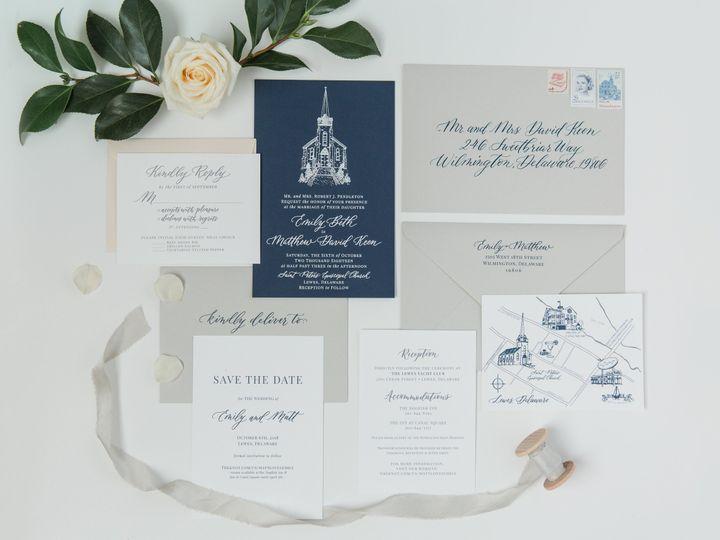 Tmx Lewes Lettering Co Coastal Beach Invitation Venue Sketch 51 946177 V1 Lewes wedding invitation
