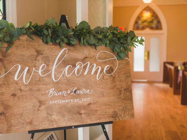 Tmx Lewes Lettering Co Welcome Sign Wood Calligraphy 51 946177 Lewes wedding invitation