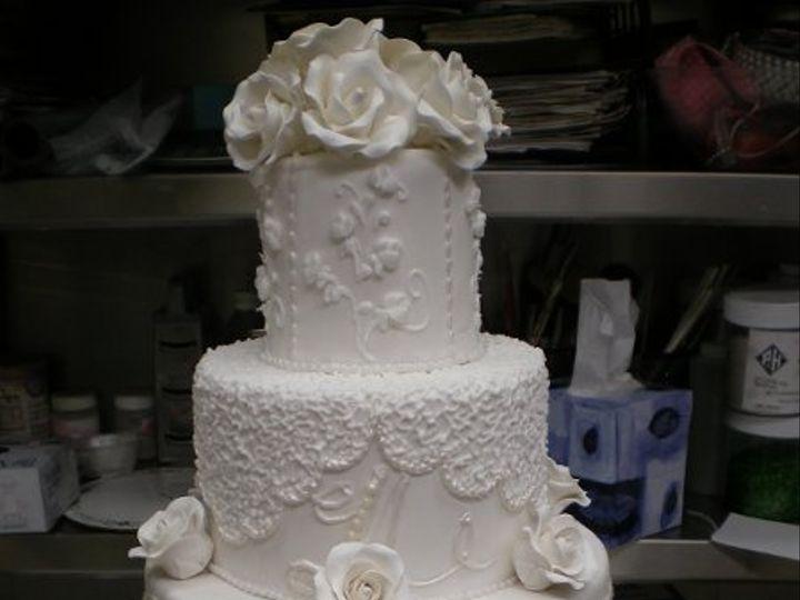 Tmx 1329060546948 Buddy2WeddingCake2 Port Jefferson, New York wedding cake