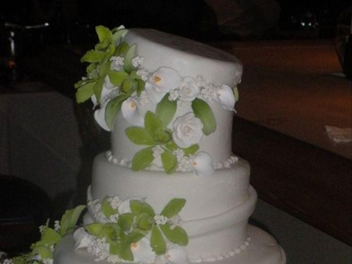 Tmx 1329065410886 ChristinesCake6 Port Jefferson, New York wedding cake