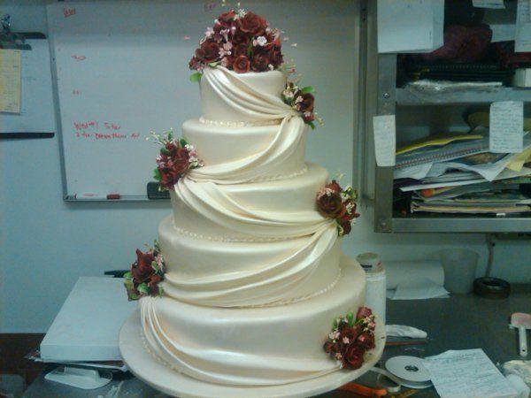 Tmx 1329065457902 5tierWedding2 Port Jefferson, New York wedding cake
