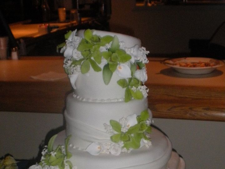 Tmx 1341943313266 ChristinesCake5 Port Jefferson, New York wedding cake