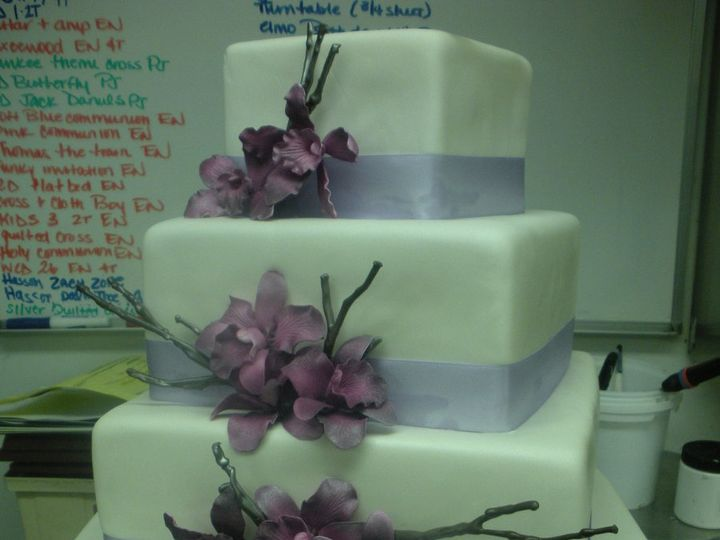 Tmx 1341943347535 OchidsBranches3 Port Jefferson, New York wedding cake