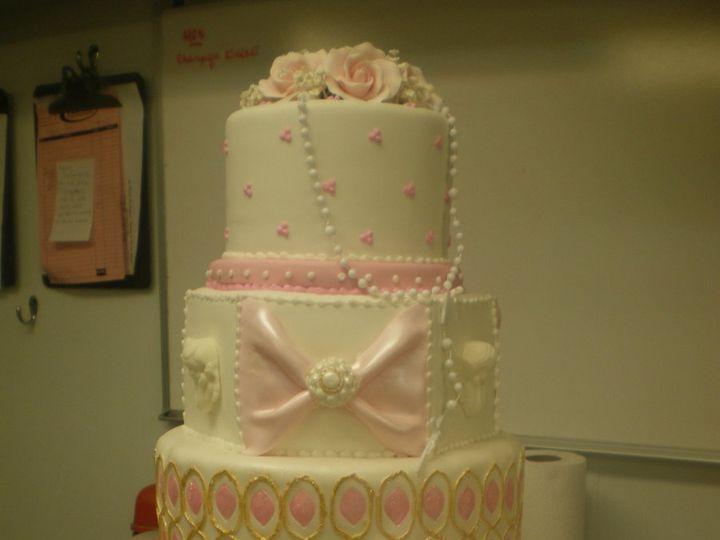 Tmx 1342367471000 CresthollowChristening.jpg Port Jefferson, New York wedding cake