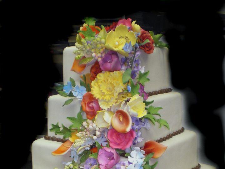 Tmx 1342367514082 FallCascade Port Jefferson, New York wedding cake
