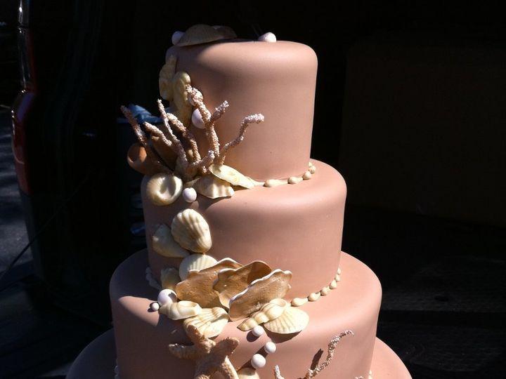 Tmx 1342367580926 IMG2364 Port Jefferson, New York wedding cake