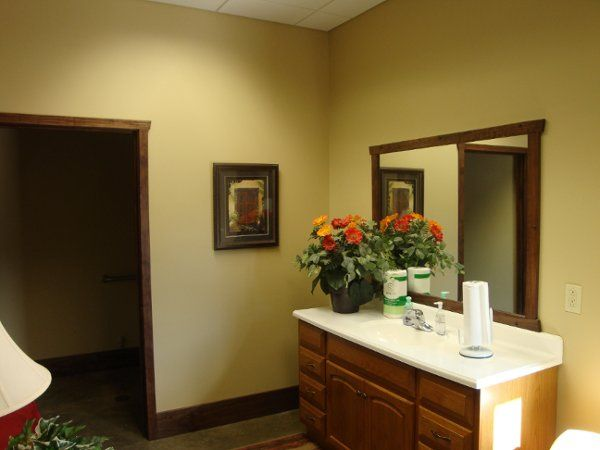 New and spacious restrooms and changing areas.