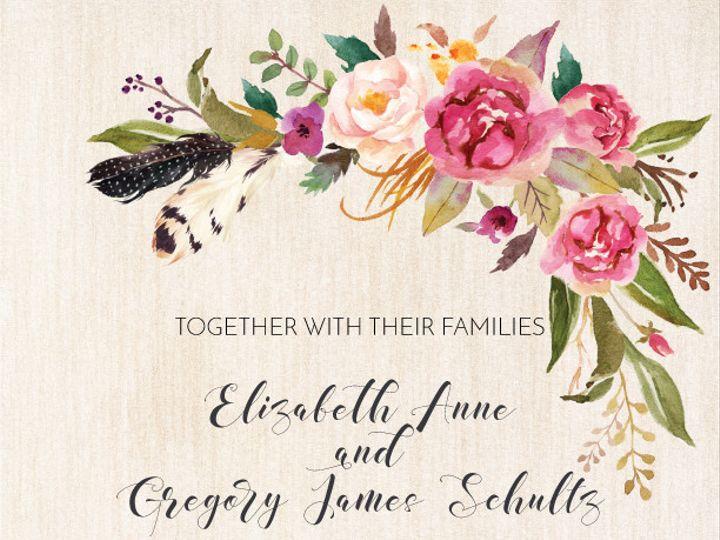 Tmx 1471573007217 Michele Myrtle Beach wedding invitation