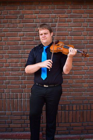 Headshot of musician