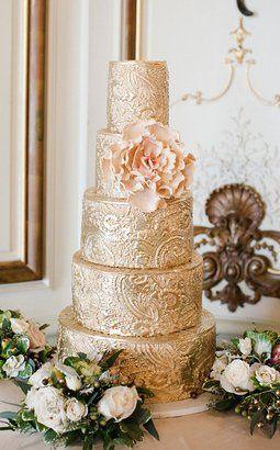 Gold cake
