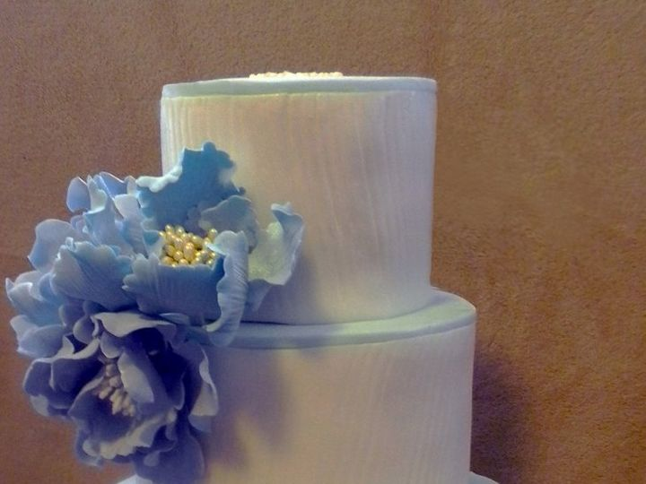 Tmx 1348675110082 Blue1 New York, NY wedding cake