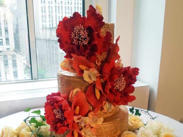 Tmx 1370462519120 Blossomron New York, NY wedding cake