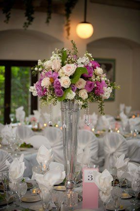 Tall table arrangement