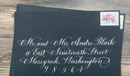 Ernest + Wordie Calligraphy