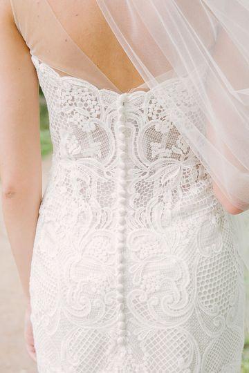 Wedding gown - brooke tobin photography