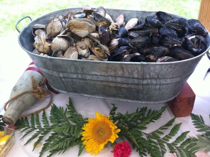 mussels and steamers