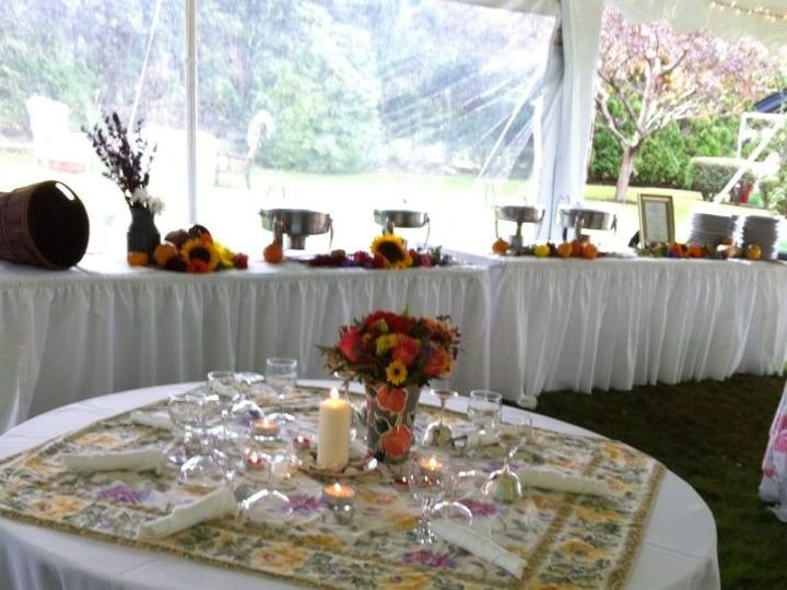 Tmx 1380035594013 Another Angle Of A Fall Buffet Medway wedding catering