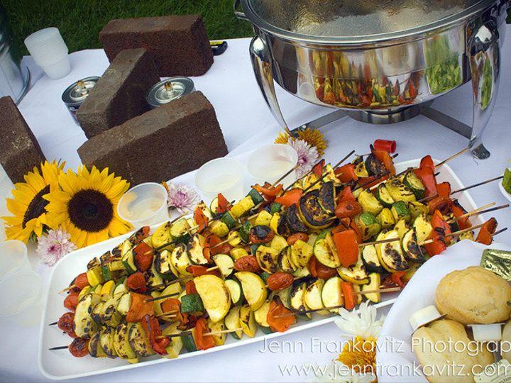 Tmx 1464802654223 Veggie Kabobs 2 Medway wedding catering
