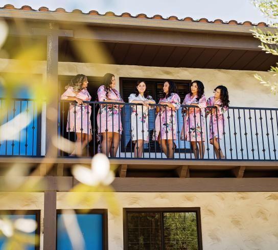 The women by the veranda