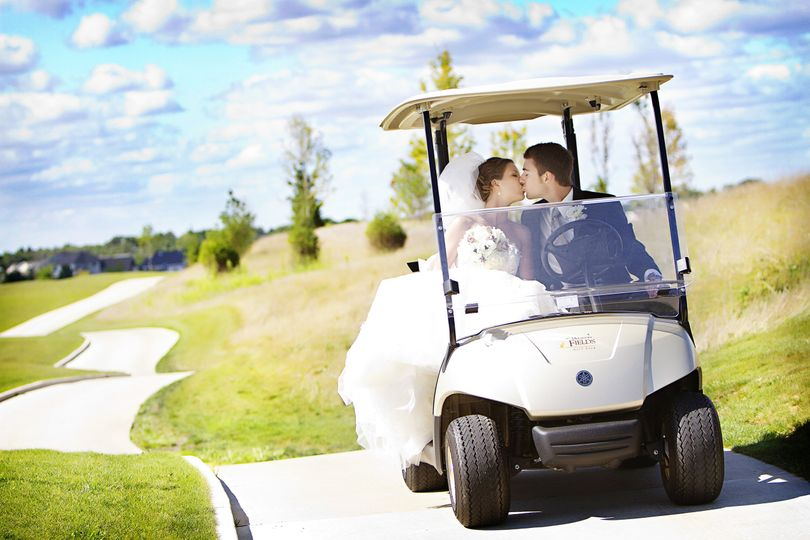 Take a Spin in a Golf Cart