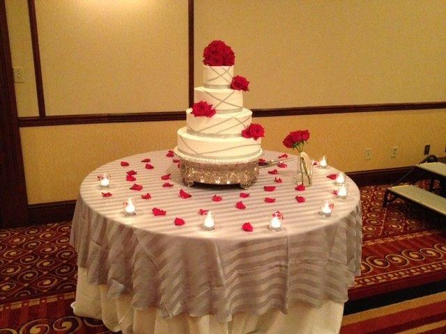 wedding cake tabl