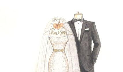Dreamlines Personalized Wedding Dress Sketch