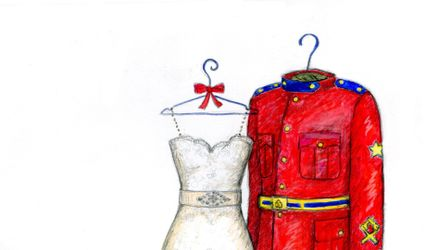 Dreamlines Personalized Wedding Dress Sketch 1