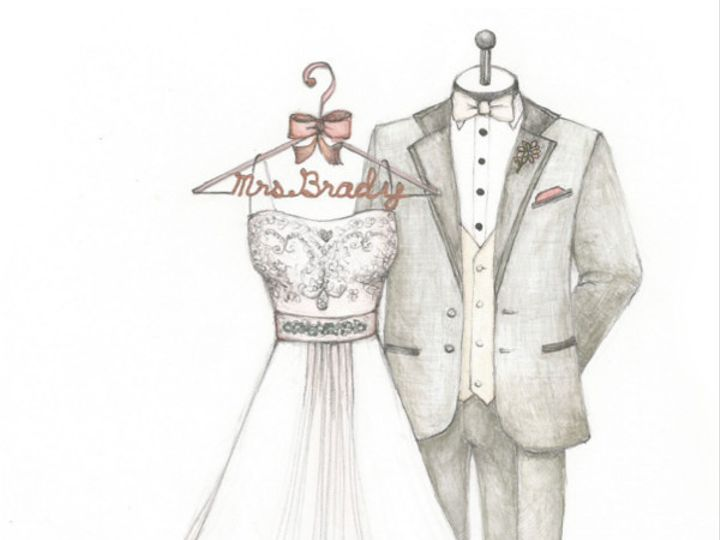 Tmx 1427908686720 1 Gown And Suit Wait For Weddingfinal March 17th O Fallon wedding favor
