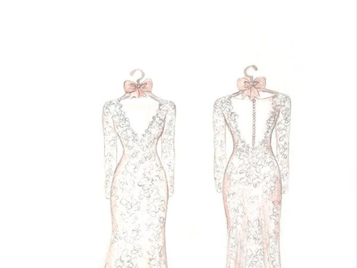 Tmx Dreamlines Wedding Dress Sketch 4 51 42277 158151022049541 O Fallon wedding favor
