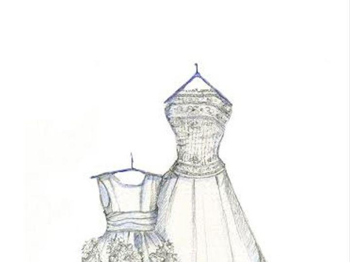Tmx Dreamlines Wedding Dress Sketch Flower Girl2 51 42277 158151029019463 O Fallon wedding favor