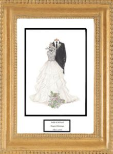 Tmx Gold Wood Frame 220x300 51 42277 158151053384545 O Fallon wedding favor