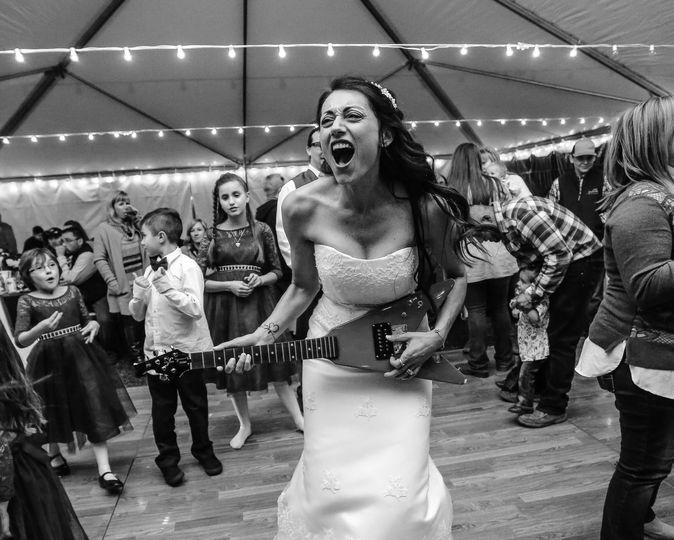 A rocking bride