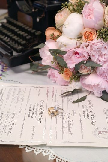 Marriage documents