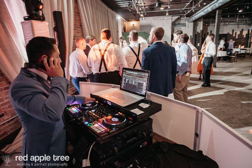 DJ at Rutherford