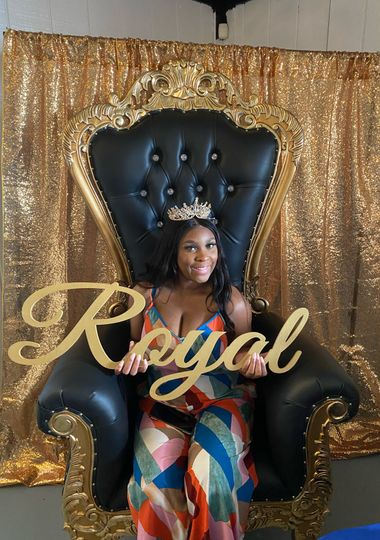 Gold and Black Throne