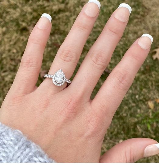 She put a ring on it!