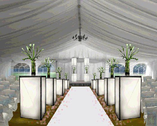 Tmx 1317654885939 Whiteweddingrendering Tampa wedding florist