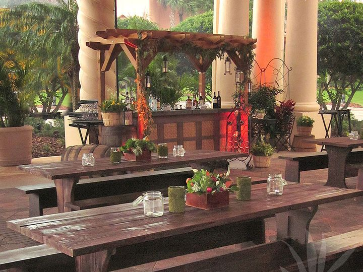 Tmx 1391193387104 Marketplacefeasting Tables Awsmal Tampa wedding florist