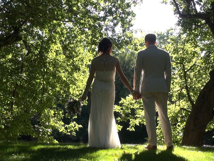 Tmx 1444611442939 Bg Backs By Water Lancaster, PA wedding videography