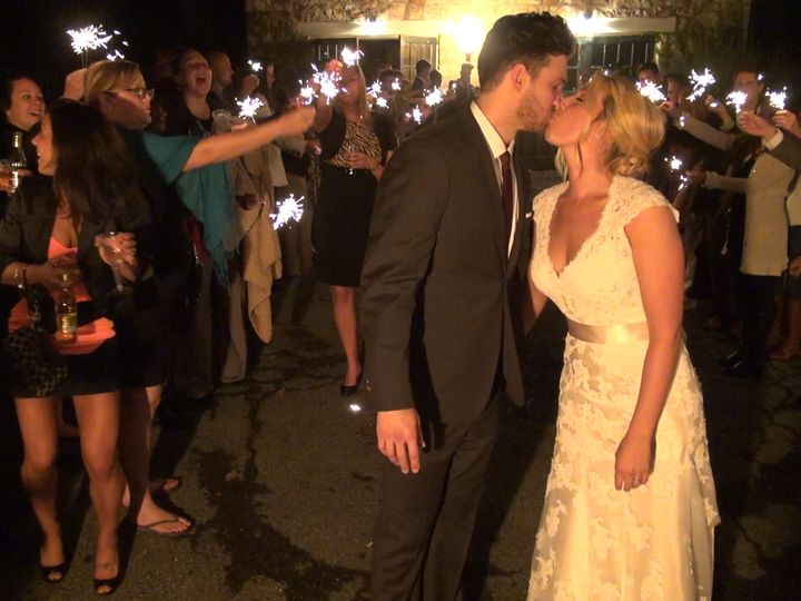Tmx 1444611898239 Sparkler Kiss Lancaster, PA wedding videography