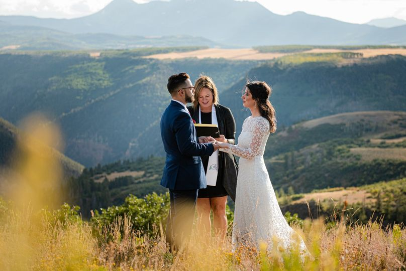 Romantic Telluride Wedding