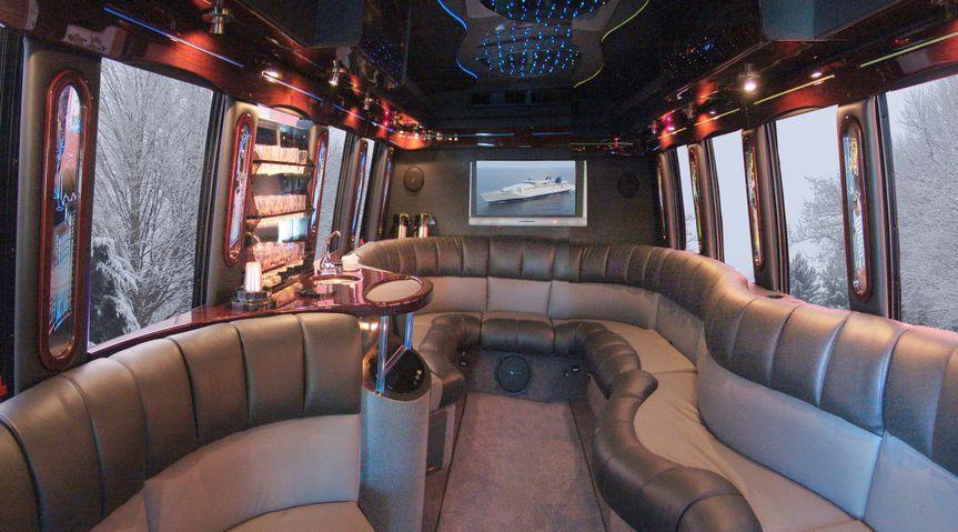 coach interior winter