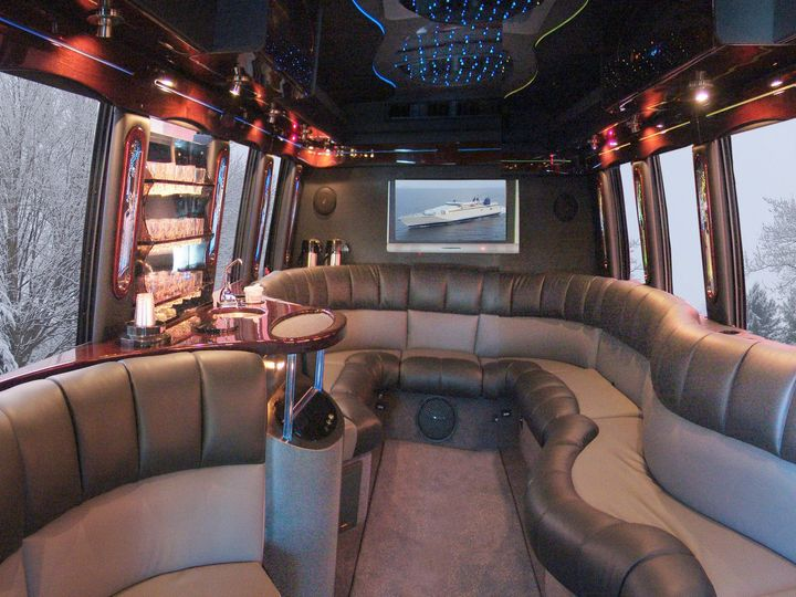 Tmx 1422495020708 Coach Interior Winter Winchester wedding transportation