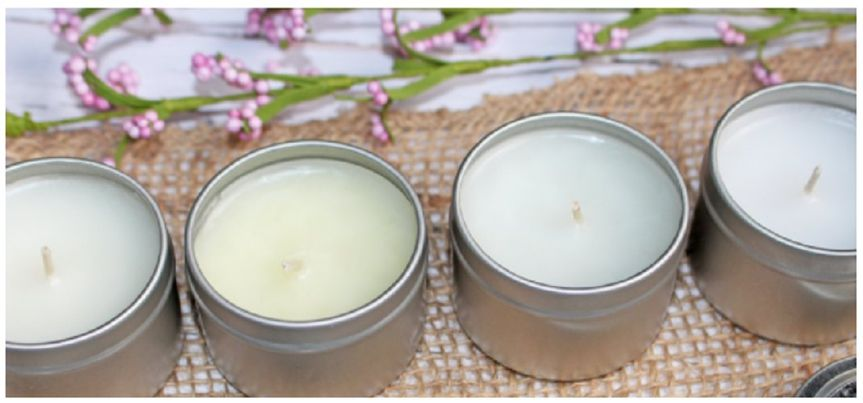 Small candle favors