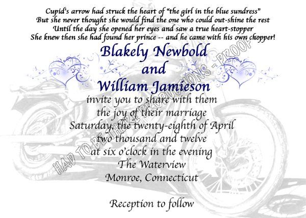Tmx 1331846996109 HARLEYproof2 Stratford wedding invitation