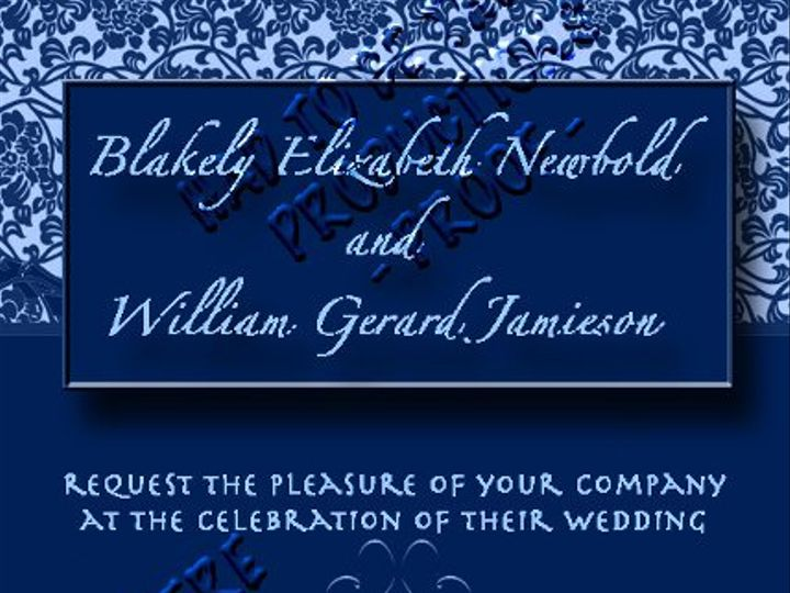 Tmx 1331847001376 Invitestyle1 Stratford wedding invitation