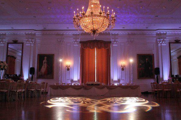 Richard Nixon Library  Uplighting and Intelligent Lighting