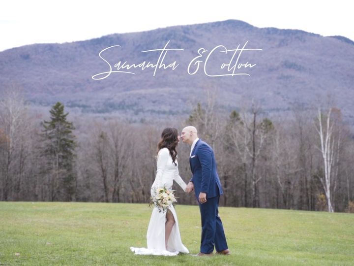 Tmx Samantha Colton 51 996277 Rutland, VT wedding videography