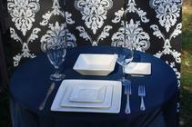 Plates per table