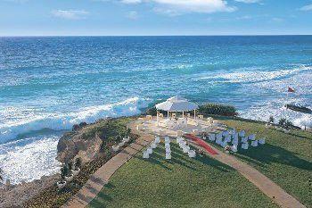 Dreams Cancun wedding Gazebo Mexico
